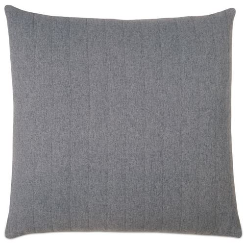 Picture of Myrtle Quilted Charcoal Euro Sham