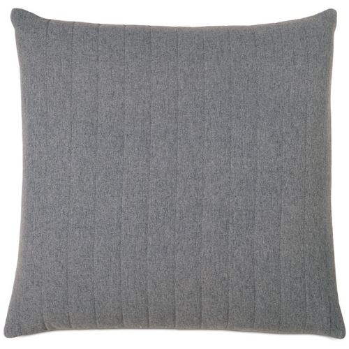 Picture of Myrtle Quilted Charcoal Decorative Pillows