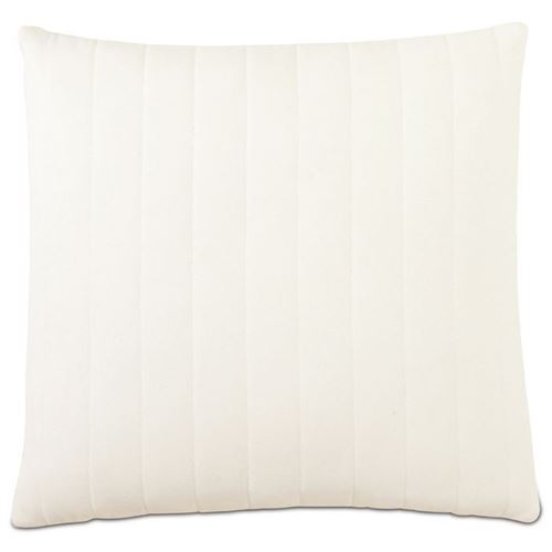 Picture of Myrtle Quilted Ivory Decorative Pillows