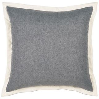 Picture of Myrtle Solid Charcoal Euro Sham