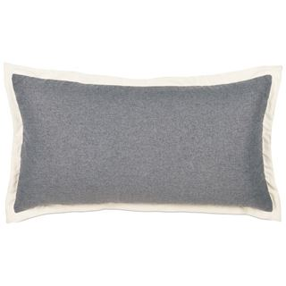Picture of Myrtle Solid Charcoal King Sham