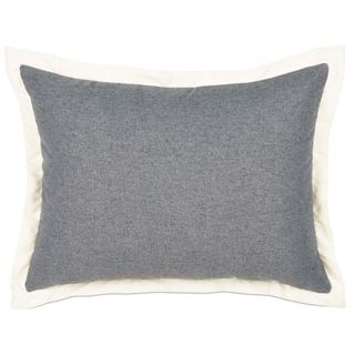 Picture of Myrtle Solid Charcoal Standard Sham