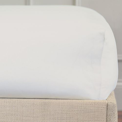 Picture of Loreto White Fitted Sheet