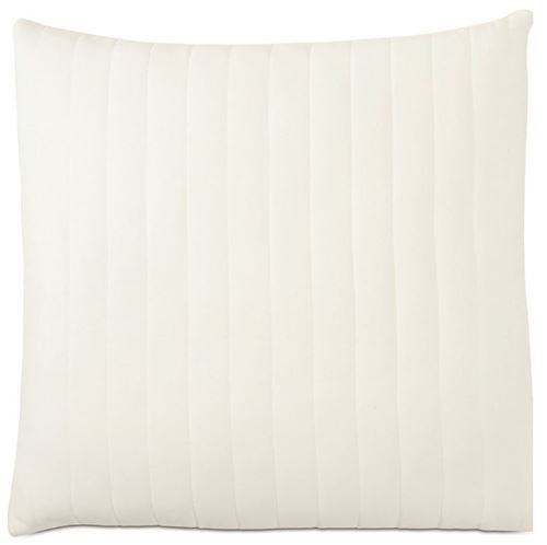 Picture of Myrtle Quilted Ivory Euro Sham