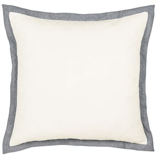 Picture of Myrtle Solid Ivory Euro Sham